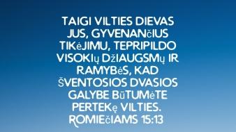 Romiečiams 15:13